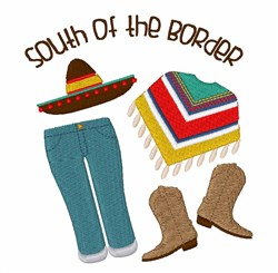 South Of Border embroidery design