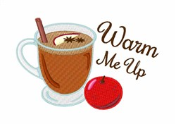 Warm Me Up embroidery design