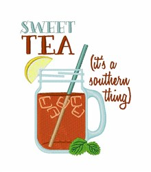 A Southern Thing embroidery design