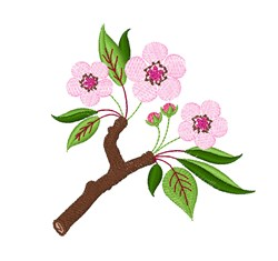 Cherry Blossom embroidery design
