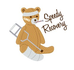 Speedy Recovery embroidery design