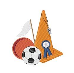 Sports Cone embroidery design