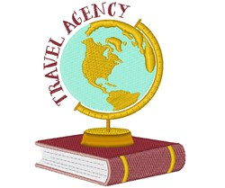 Travel Agency embroidery design