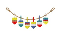 Boat Buoys embroidery design