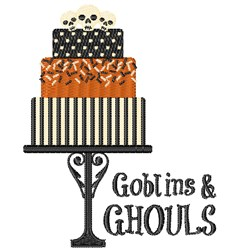 Goblins & Ghouls embroidery design
