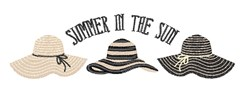 Summer In Sun embroidery design