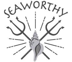 Seaworthy embroidery design