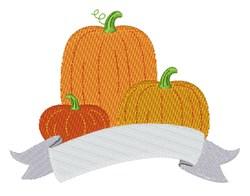 Fall Pumpkins embroidery design