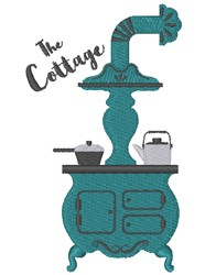 The Cottage embroidery design