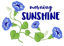 Morning Sunshine embroidery design