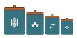 Kitchen Canisters embroidery design