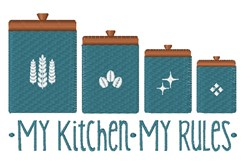 My Kitchen embroidery design