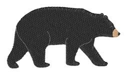 Black Bear embroidery design