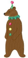 Carnival Bear embroidery design