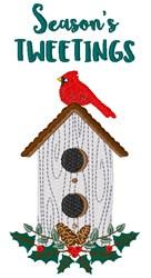 Seasons Tweetings embroidery design