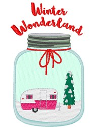 Winter Wonderland embroidery design
