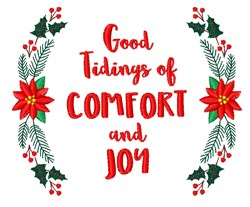 Good Tidings embroidery design