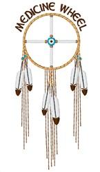 Medicine Wheel embroidery design