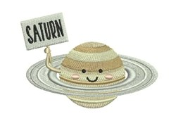 Saturn embroidery design