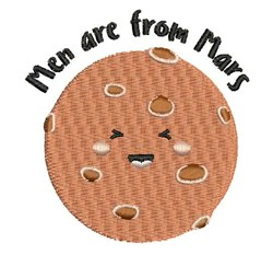 Men Are From Mars embroidery design