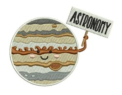 Astronomy embroidery design