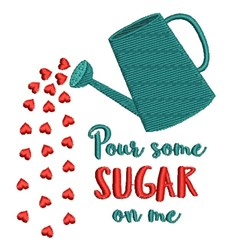 Pour Some Sugar embroidery design