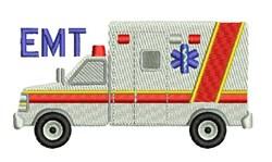 EMT Ambulance embroidery design