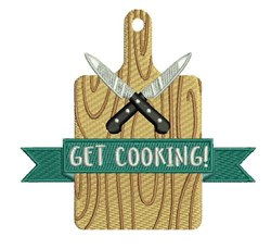 Get Cooking embroidery design