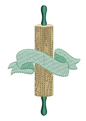 Rolling Pin Banner embroidery design