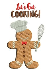 Lets Get Cooking! embroidery design