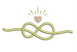 Tie The Knot embroidery design