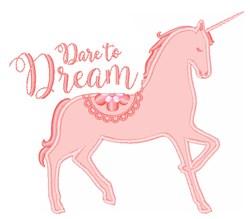 Dare To Dream embroidery design