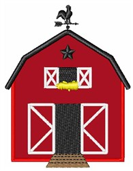Red Barn embroidery design