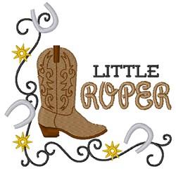 Little Roper embroidery design