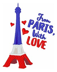 From Paris With Love embroidery design
