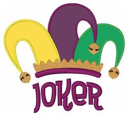 Joker Hat embroidery design