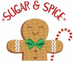 Sugar & Spice embroidery design