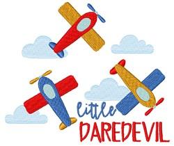 Little Daredevil embroidery design