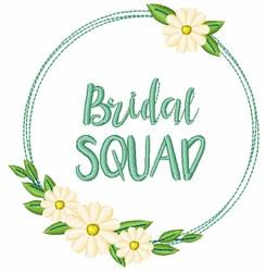 Bridal Squad embroidery design