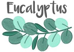 Eucalyptus embroidery design