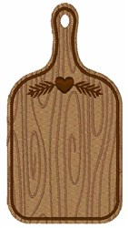 Cutting Board embroidery design