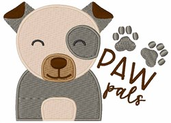 Paw Pals embroidery design