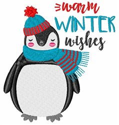 Warm Winter Wishes embroidery design