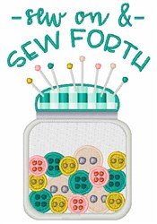 Sew On & Sew Forth embroidery design
