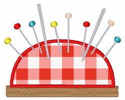 Sewing Pincushion embroidery design
