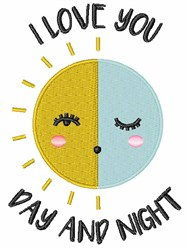 Day And Night embroidery design