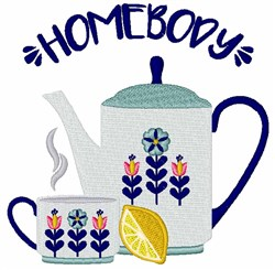 Homebody embroidery design