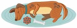 Sleeping Dog embroidery design