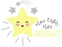 Star Light embroidery design