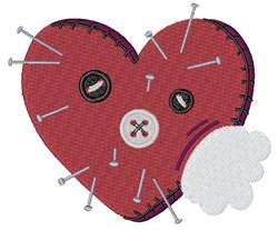 Valentine Pin Cushion embroidery design